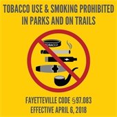 Tobacco and Smoke Free Parks and Trails
