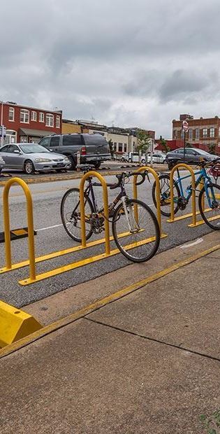 Sustainability - Bike Parking Corral 2