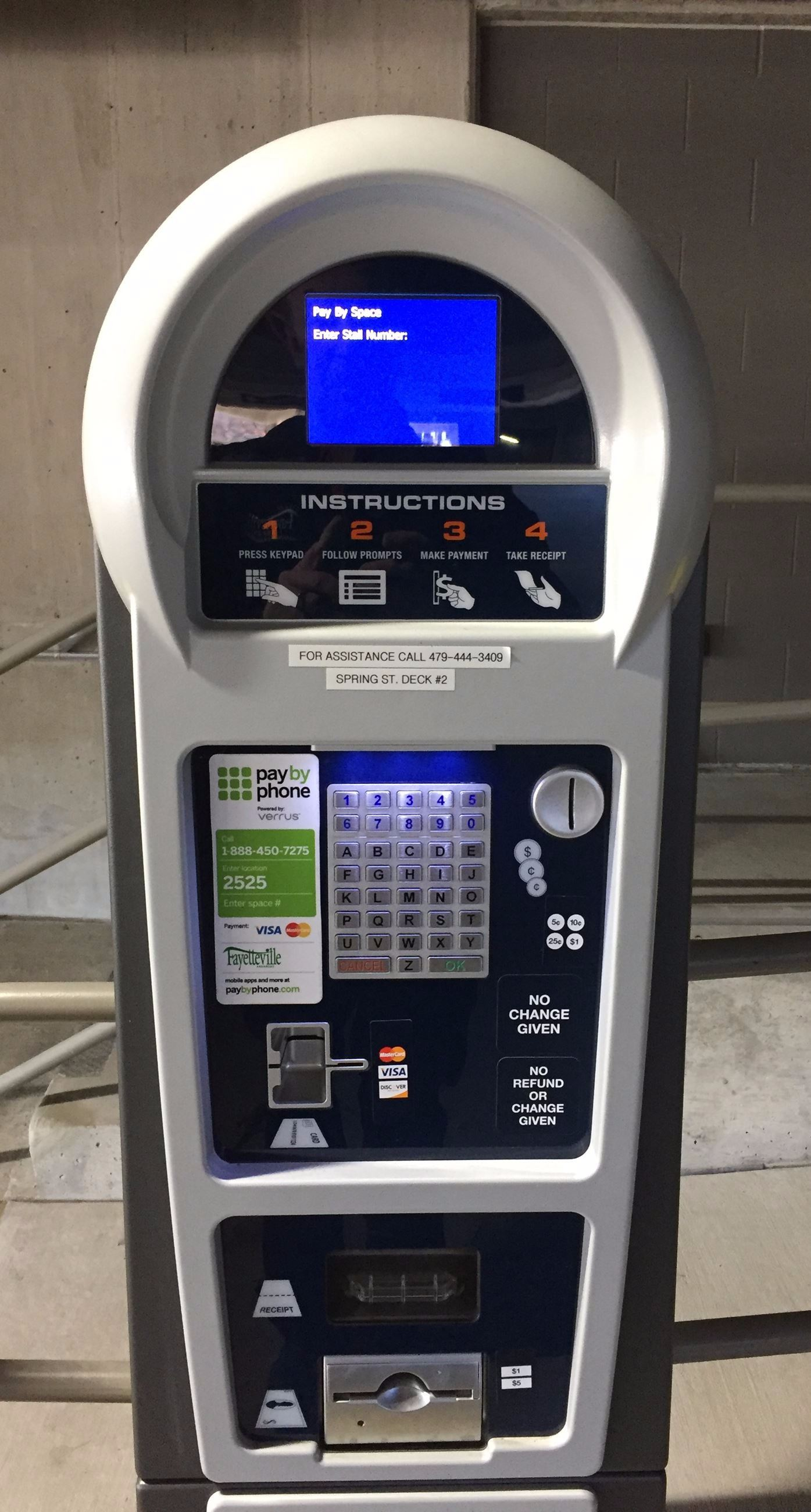 Parking_Pay Station