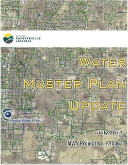 2017 Water Master Plan Update
