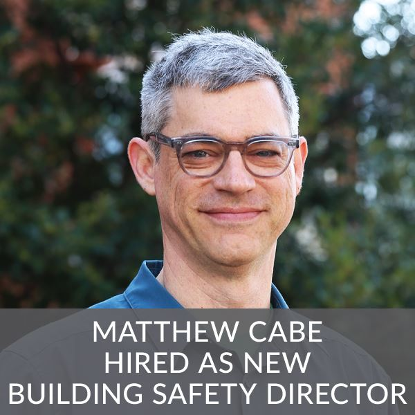 Matthew Cabe New Building Safety Director