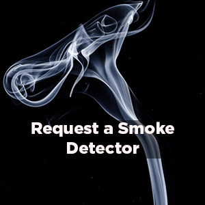 Request a smoke detector