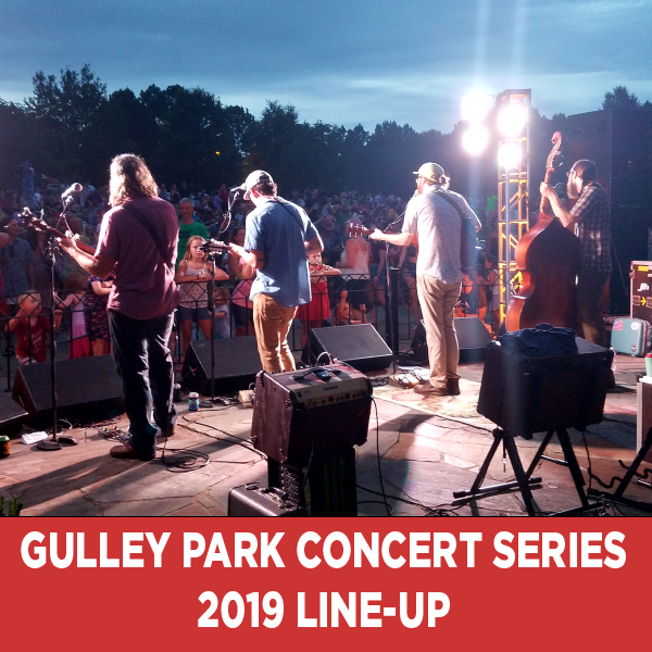 Gulley Park Concert Series 2019 Line-Up