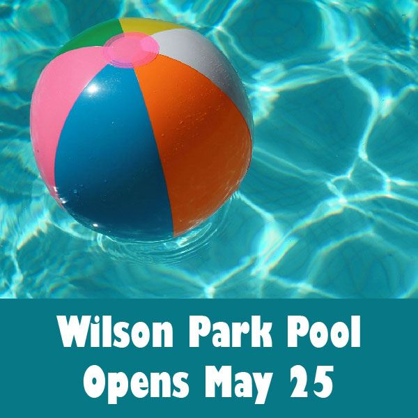 WIlson Pool Opens May 25-01