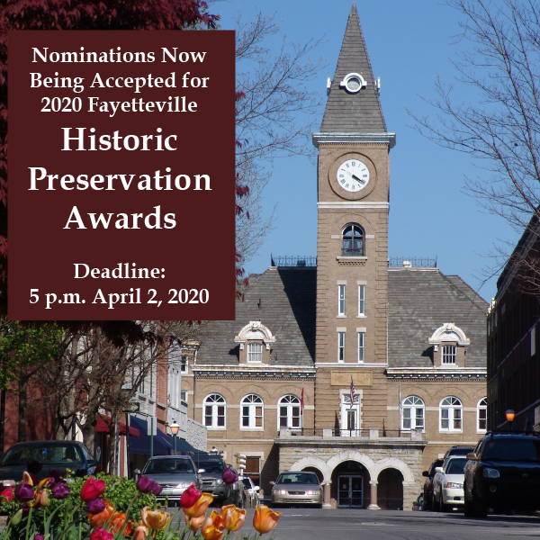 Historic Preservation Awards Call for Nominations 2020