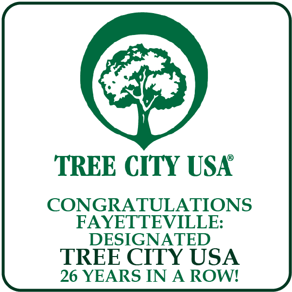 Fayetteville receives Tree City USA designation