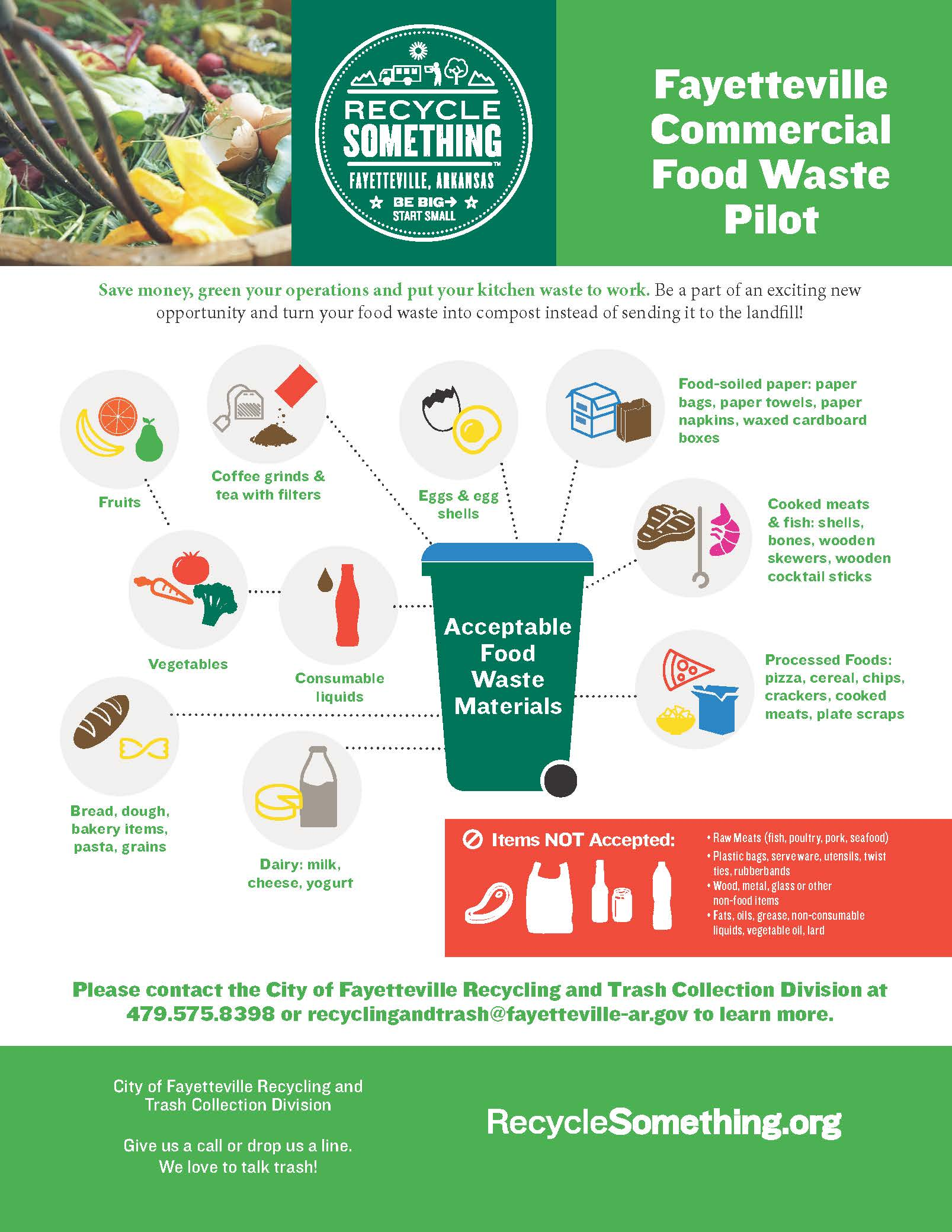 commercial food waste pilot-flyerv2