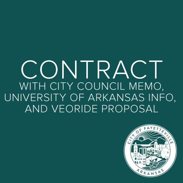 City Council Item with VeoRide Contract and Proposal