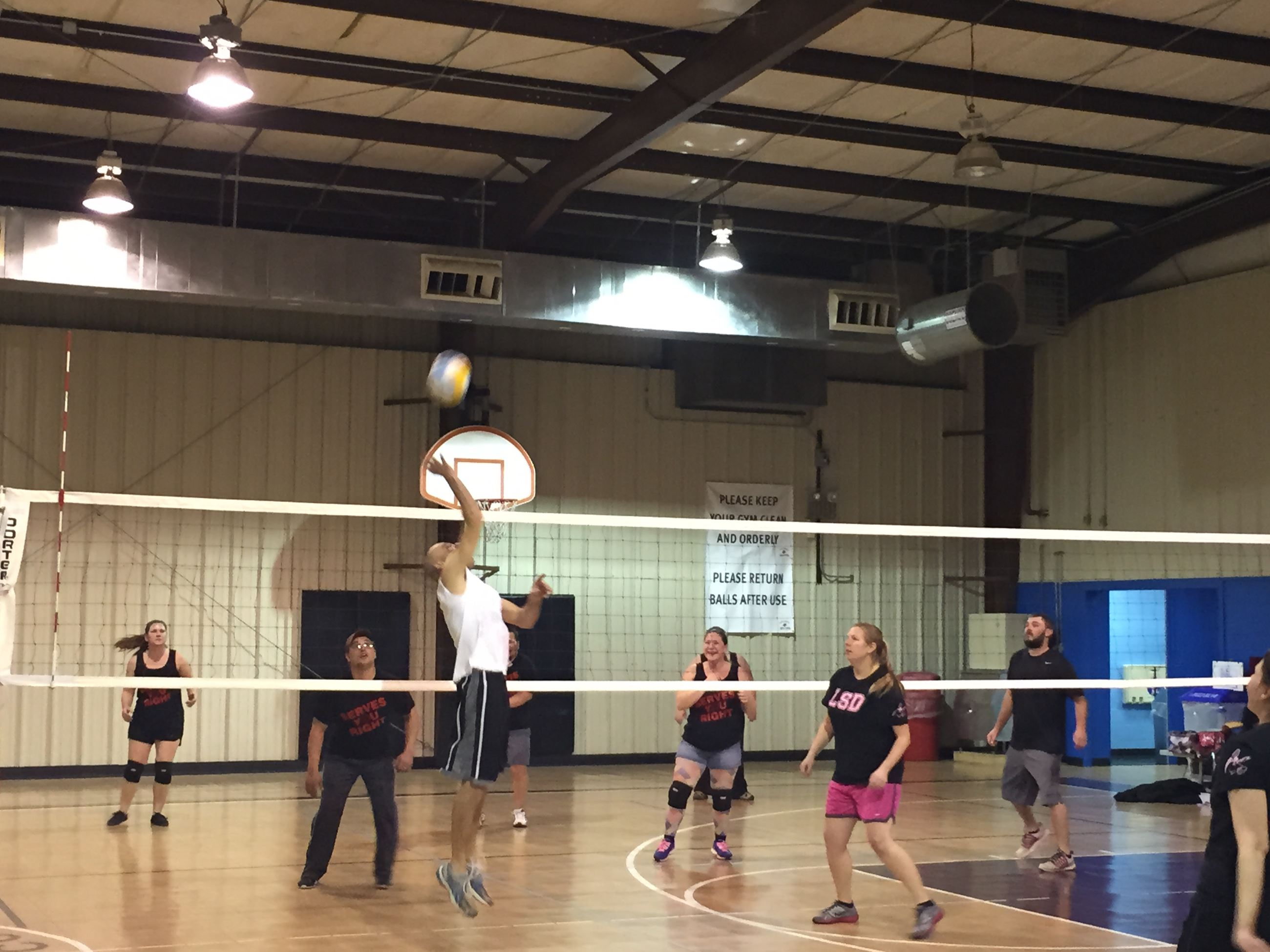 Volleyball- Playin It